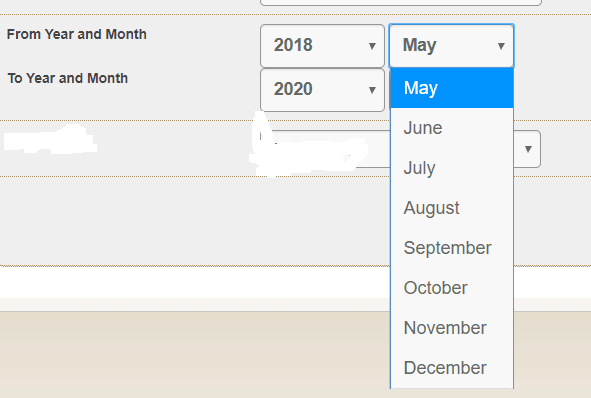 Auto Populate Year and Month in dropdown list in SharePoint