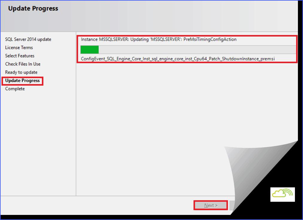SQL Server 2014 SP1 installation steps