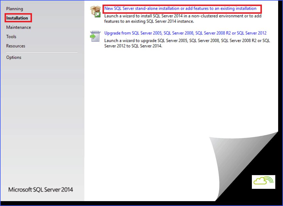 install sql server 2014