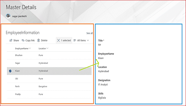 SharePoint Online modern list properties web part