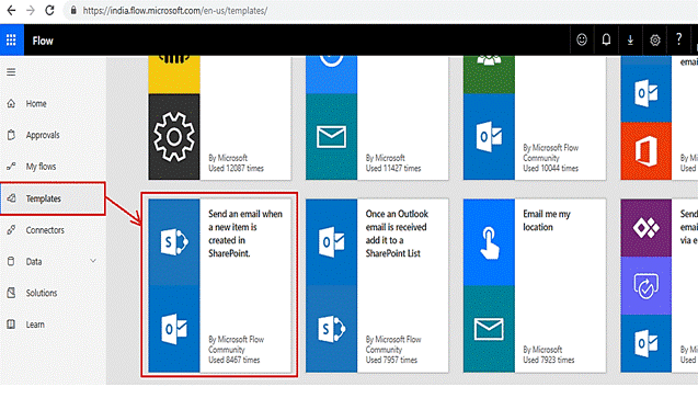 microsoft flow http request sharepoint rest api