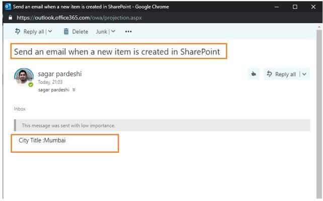 microsoft power automate get sharepoint list item rest api