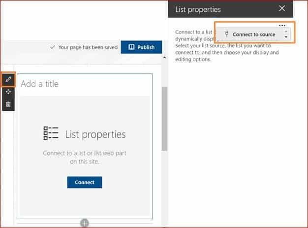 sharepoint modern list properties web part