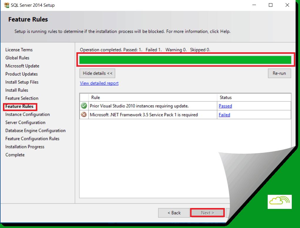 sql server installation step by step