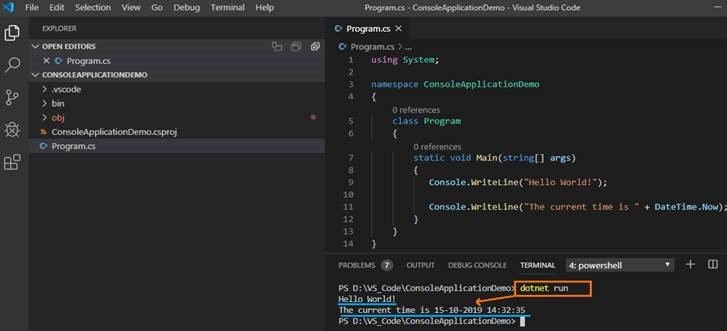 visual studio code debug c#