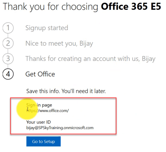 office 365 enterprise e5 demo trial