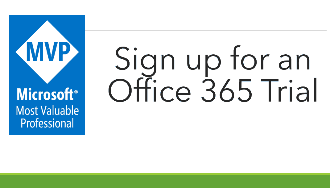 sign up for office 365 e5 free trial