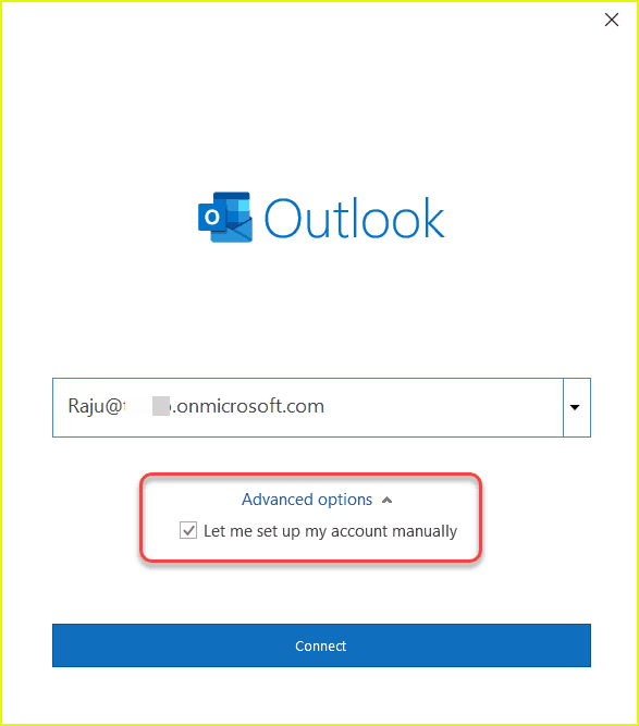office 365 outlook mail server