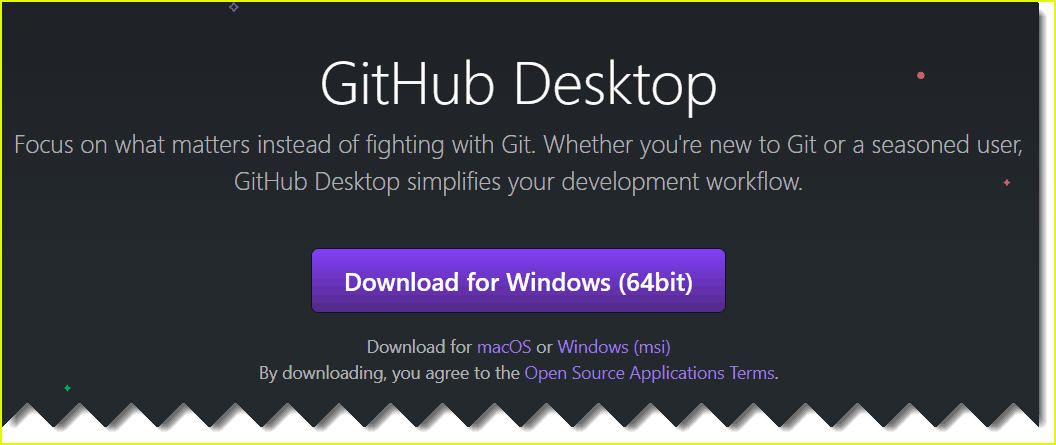 Download and install github for windows