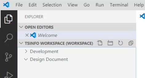 add folder to a workspace in vs code