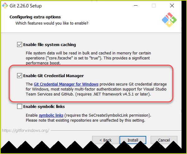 git is not recognized as an internal or external command error