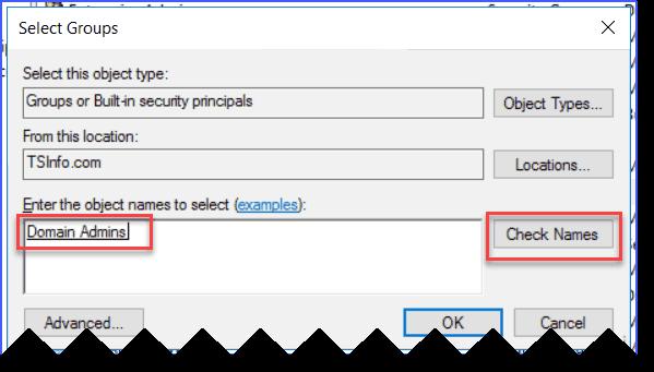 windows server 2016 add user to group