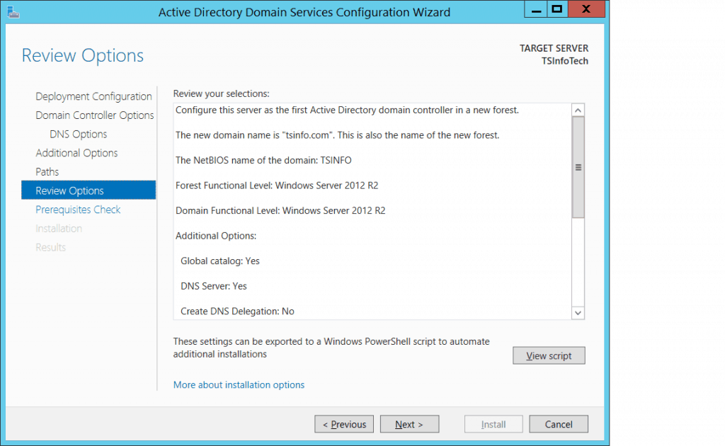 how to install active directory in windows server 2012 r2 step by step pdf