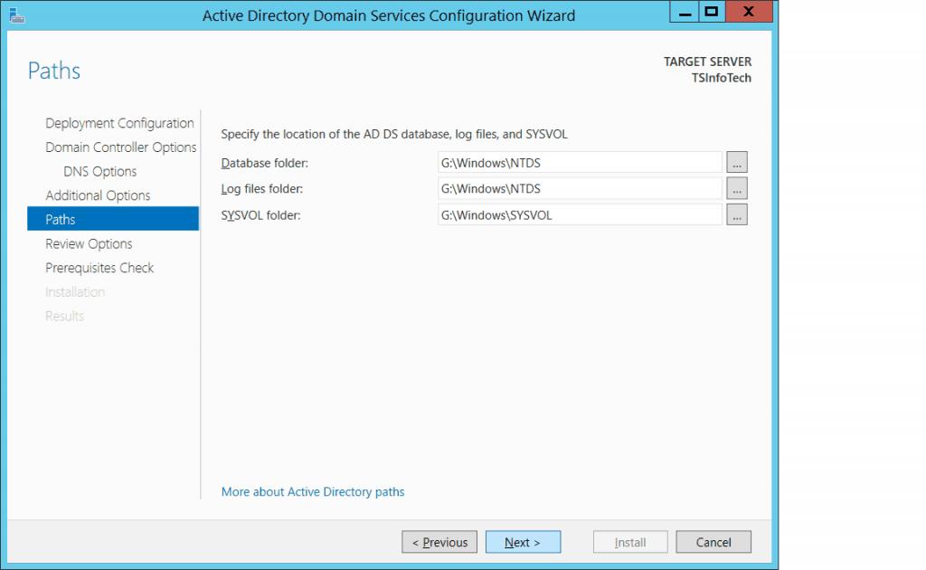 active directory windows server 2012
