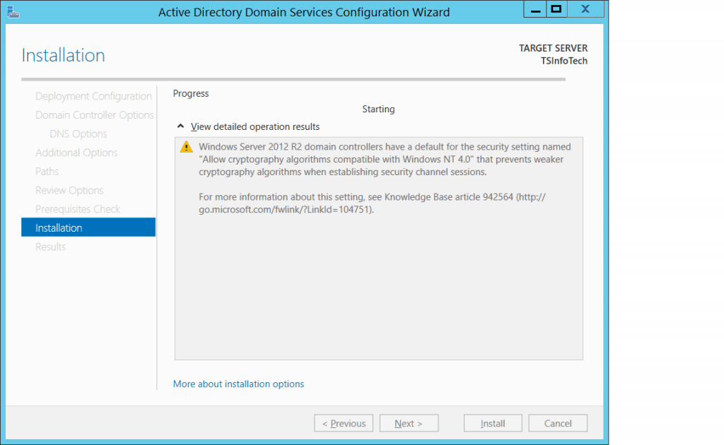 how to install active directory in windows server 2012 r2 step by step