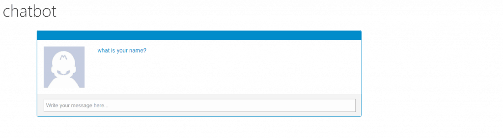 create a SharePoint Online Chatbot using JavaScript