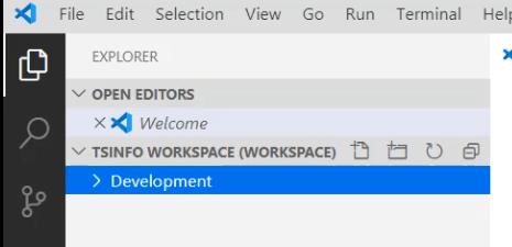 open visual studio code workspace file