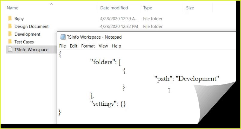 open vs code workspace file