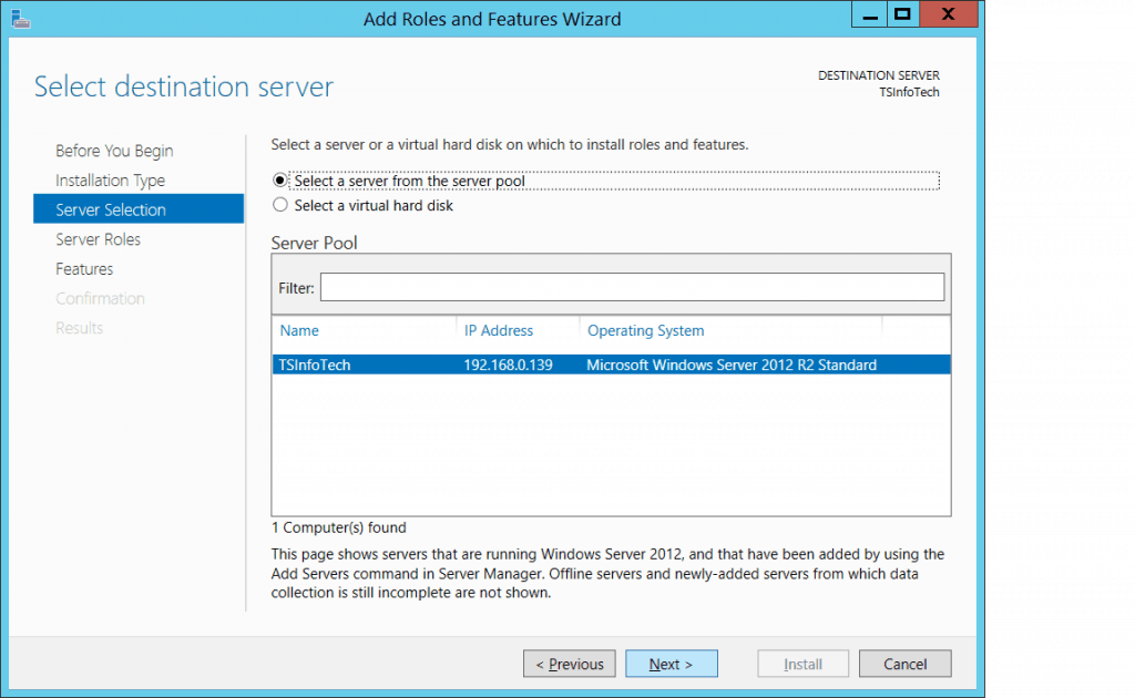 how to setup active directory on windows server 2012 r2