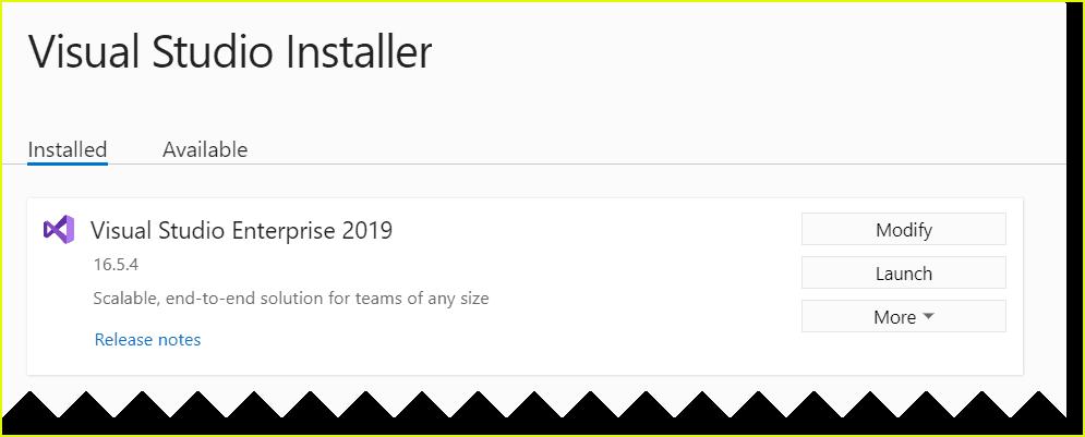 visual studio 2019 free update