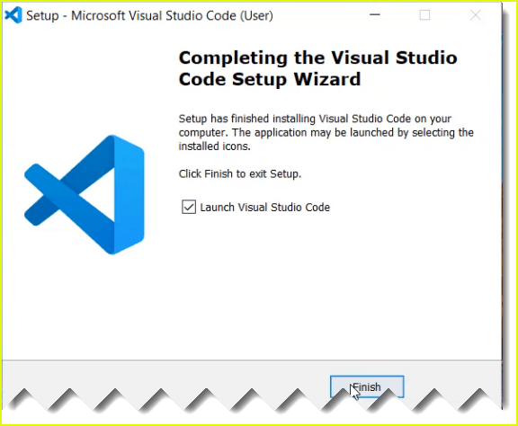 visual studio code installation steps