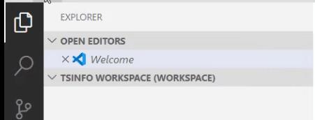 vs code workspace