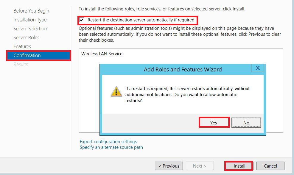 enable wireless in windows server 2016