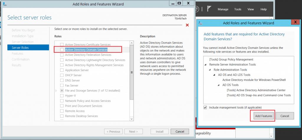 active directory domain controller windows server 2012 r2