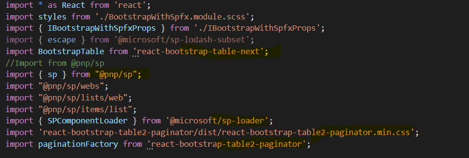 How to use bootstrap in sharepoint framework webpart