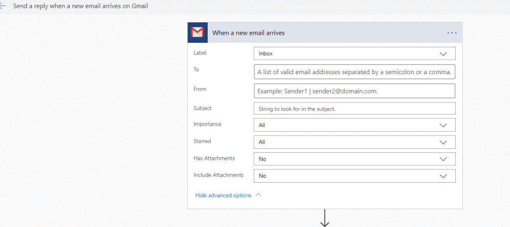 microsoft flow example