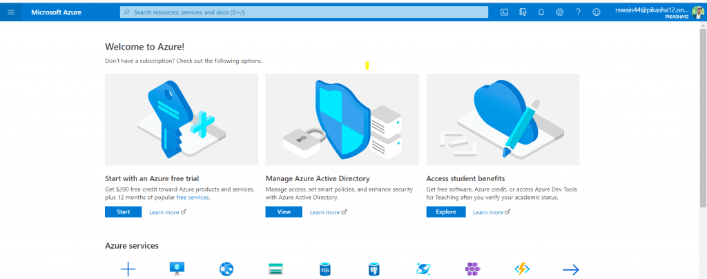 how to Create the security token in Azure cloud