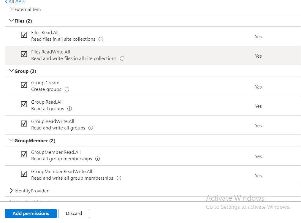 How to get Office 365 Groups using Microsoft Graph API