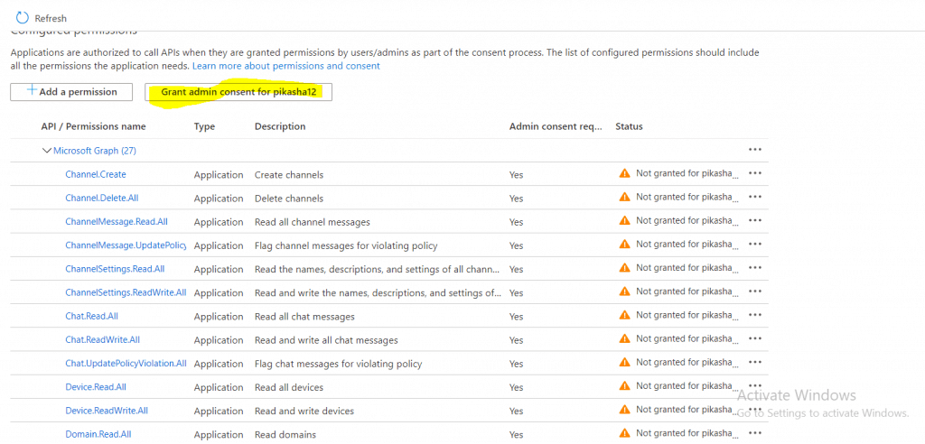 How to get Office 365 Groups using Graph API