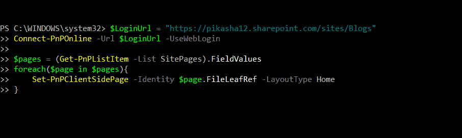 remove title sharepoint modern page