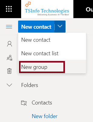 Create a new group in office 365