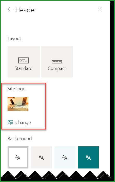 Change SharePoint Site Logo