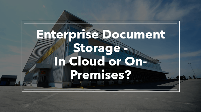 enterprise document storage