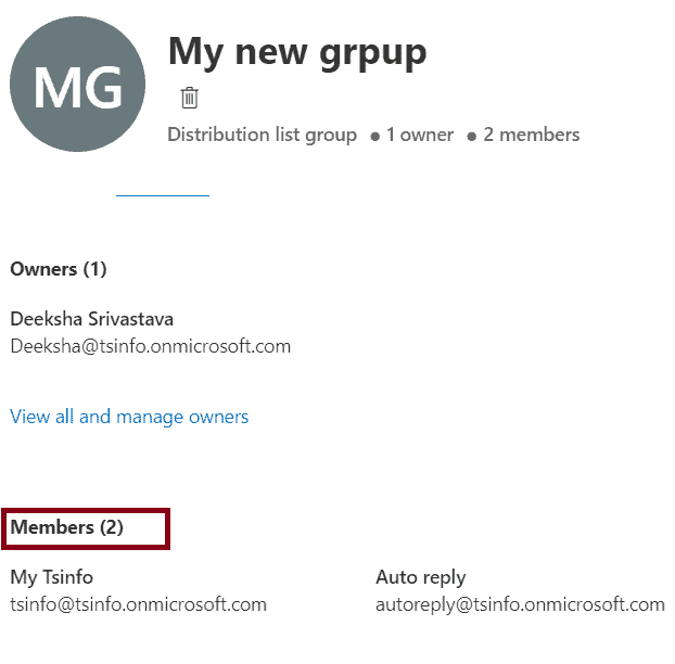 how to Add Members in distribution list in office 365