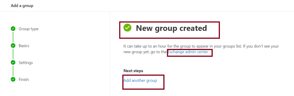 Create a Distribution list in Office 365