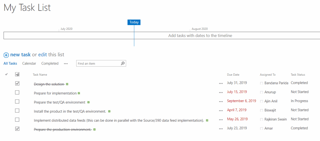 hide approved task list Items in SharePoint Online