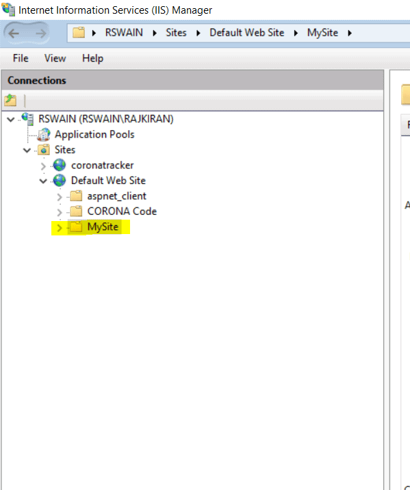 how to deploy web application to IIS Server in asp.net
