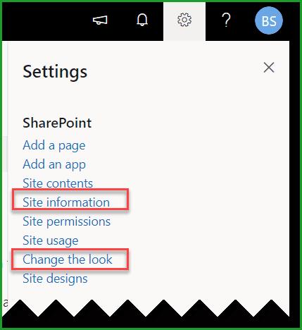 Change SharePoint Online Modern Site Logo