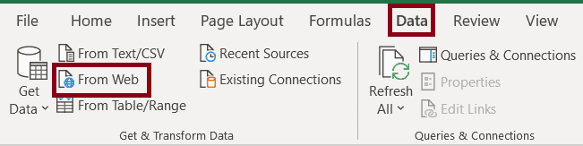 Access to the resource is forbidden in excel
