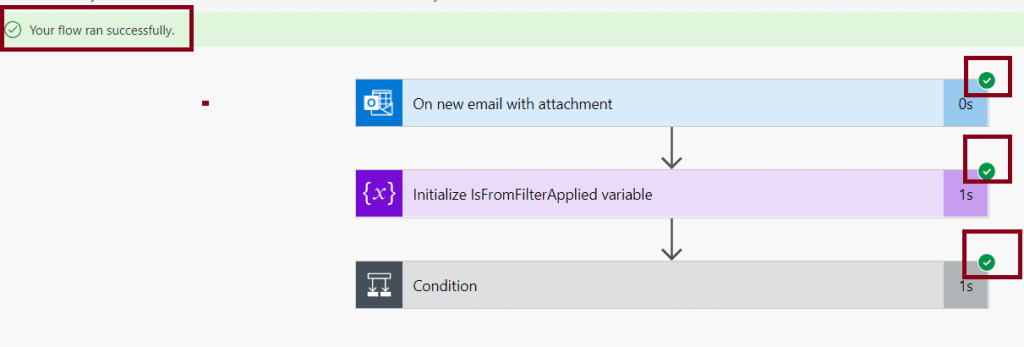 Power automate template Save my email attachments to a SharePoint document library