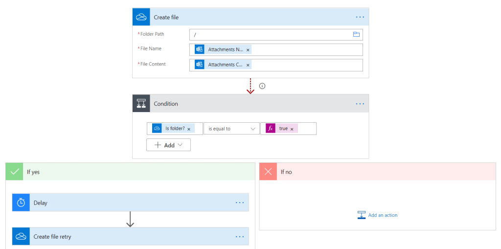 Save Office 365 email multiple attachments to OneDrive for Business