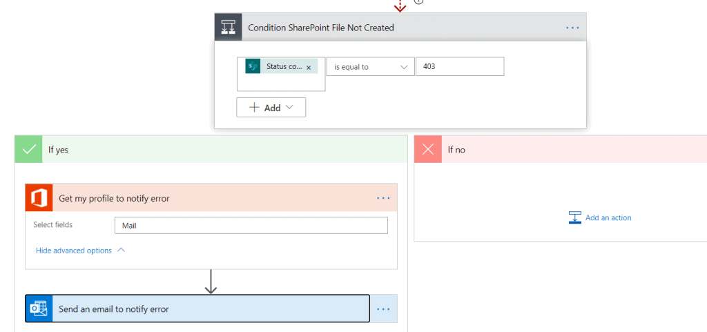 Save my email attachments to a SharePoint document library ms flow