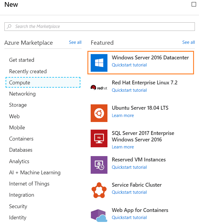create vm in azure step by step
