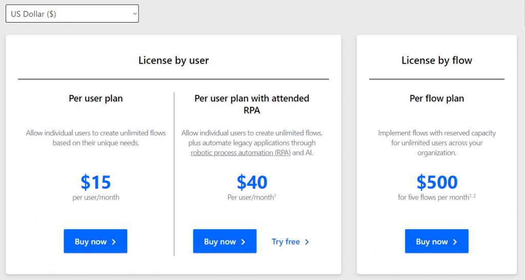 Flow Licensing
