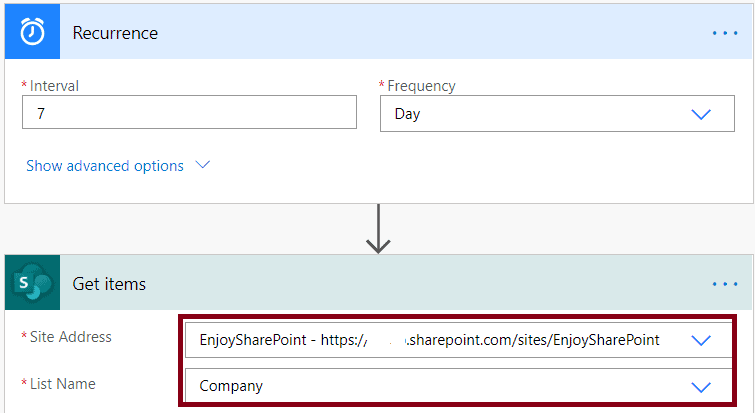 how do i export SharePoint Online list to csv workflow