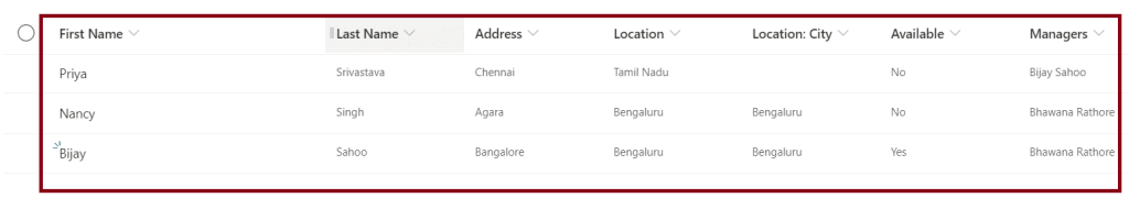 how to Add items in sharepoint list